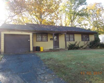 Turnersville Single Family Home ACTIVE: 809 Yorktown Road