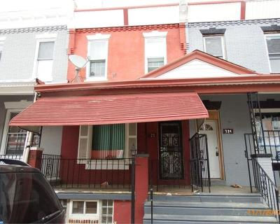 Philadelphia PA Condo/Townhouse ACTIVE: $21,000