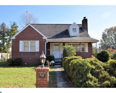 Norristown Single Family Home ACTIVE: 916 Hamilton Street