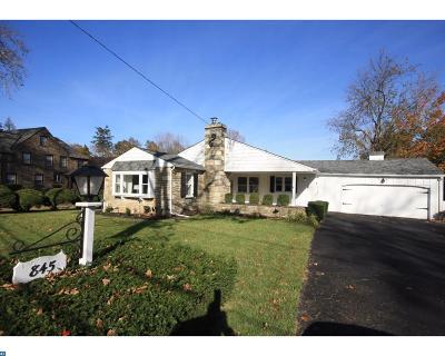 Philadelphia Single Family Home ACTIVE: 845 Herschel Road