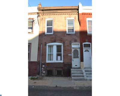 Philadelphia Condo/Townhouse ACTIVE: 1265 S Taylor Street