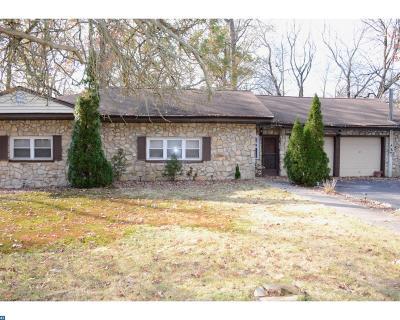 Gibbsboro NJ Single Family Home ACTIVE: $69,900