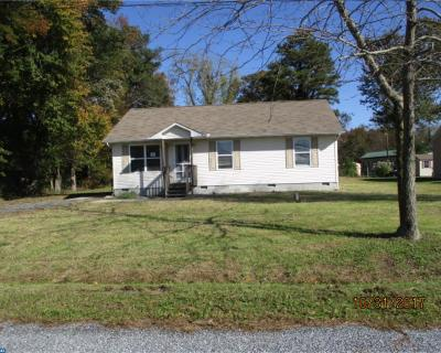 DE-Sussex County Single Family Home ACTIVE: 17755 Check Road