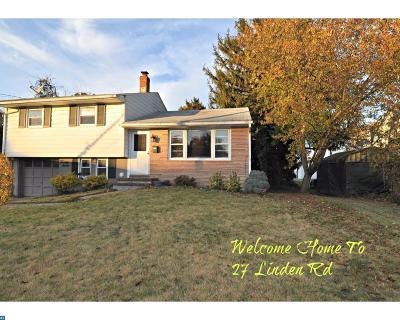 Burlington Township NJ Single Family Home ACTIVE: $230,000
