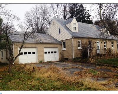 PA-Bucks County Single Family Home ACTIVE: 1319 Pleasant View Road