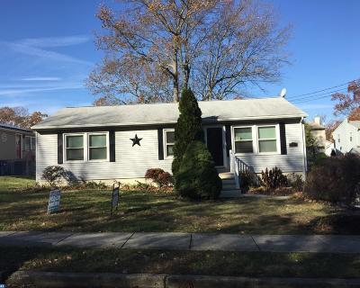 Somerdale Single Family Home ACTIVE: 22 Cedar Avenue