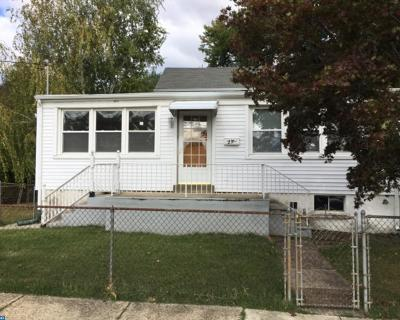 Bellmawr Single Family Home ACTIVE: 27 W Chestnut Avenue