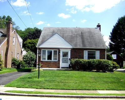 Springfield, Upper Darby Single Family Home ACTIVE: 437 Prospect Road