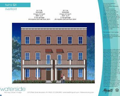 PA-Bucks County Single Family Home ACTIVE: 118b Dock Street #G111B