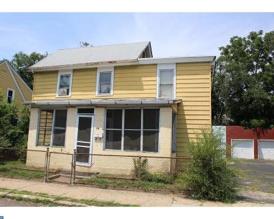 Paulsboro Single Family Home ACTIVE: 15 W Washington Street