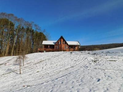 Russell Single Family Home For Sale: 1300 Cider Mill Hill Road