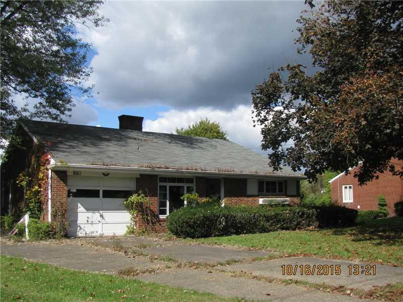 861 E McMurray Rd  Canonsburg, PA    MLS# 1082428