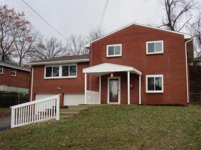 Monroeville PA Single Family Home Sold: $157,900