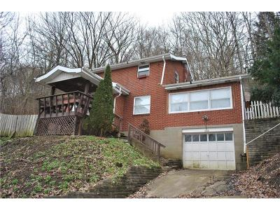 Wilmerding Single Family Home For Sale: 334/336 Wood