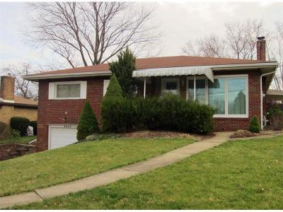 Monroeville PA Single Family Home Sold: $150,000