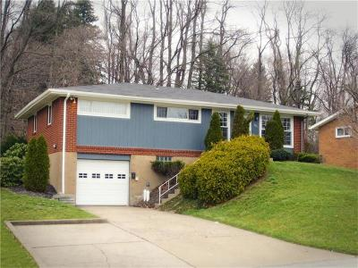 Monroeville PA Single Family Home Sold: $123,000