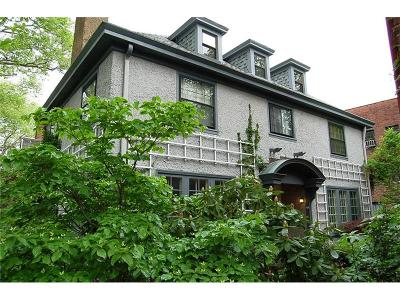 Shadyside Single Family Home Contingent: 521 Roslyn Place