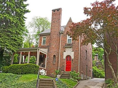 Squirrel Hill Single Family Home For Sale: 5558 Bellerock Pl