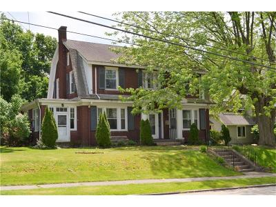 Somerset Boro Single Family Home For Sale: 321 W Church Street