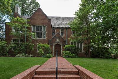 Squirrel Hill Single Family Home For Sale: 1300 Bennington Avenue