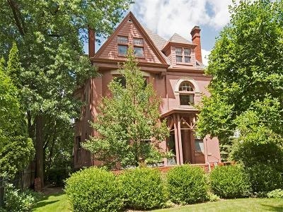 Shadyside Single Family Home For Sale: 834 Amberson