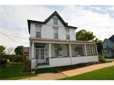 City Of Greensburg PA Single Family Home For Sale: $149,000