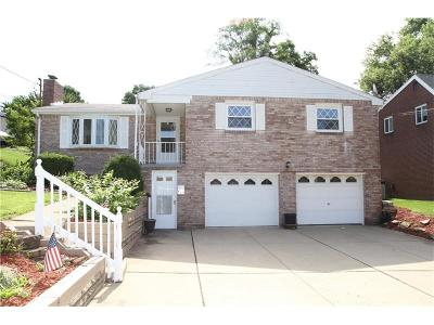 Penn Hills Single Family Home For Sale: 166 Glenhurst Dr