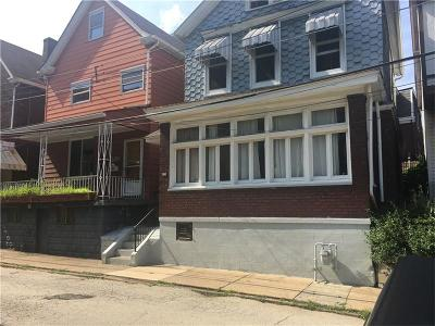 Regent Square Single Family Home For Sale: 231 Union St