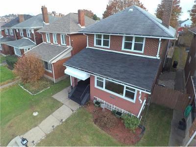 Swissvale Single Family Home For Sale: 7306 Schoyer Ave