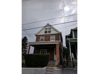 Swissvale Single Family Home For Sale: 1816 Lafayette St