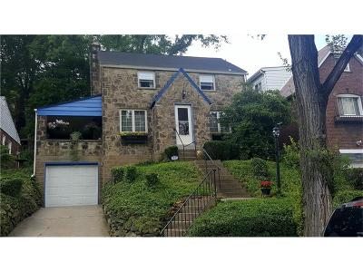 Wilkinsburg Single Family Home For Sale: 1911 Fairlawn