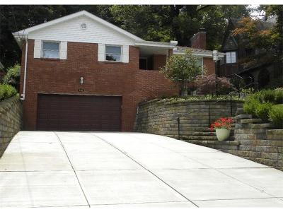 Squirrel Hill Single Family Home For Sale: 1814 Beechwood Blvd.
