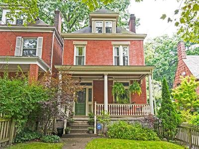 Regent Square Single Family Home For Sale: 180 W Hutchinson