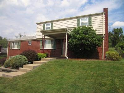 Monroeville PA Single Family Home Sold: $190,000
