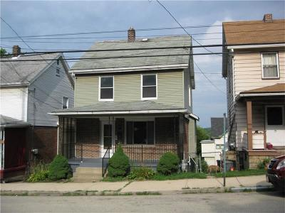 Swissvale Single Family Home Contingent: 7723 Saint Lawrence Ave.