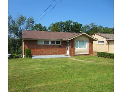 Wilkins Twp PA Single Family Home For Sale: $104,900