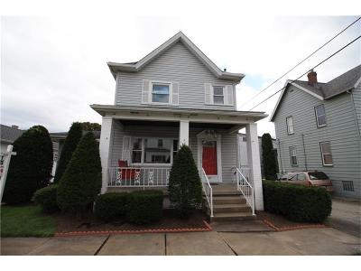 City Of Greensburg PA Single Family Home Contingent: $145,000