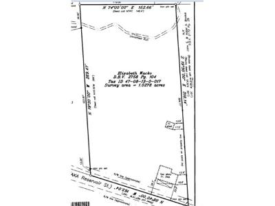 Residential Lots & Land For Sale: Reservoir St