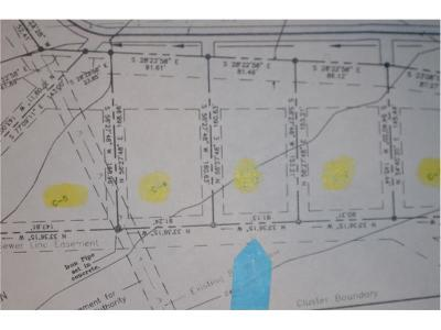 Somerset/Cambria County Residential Lots & Land For Sale: C-3 Cheyenne Develop