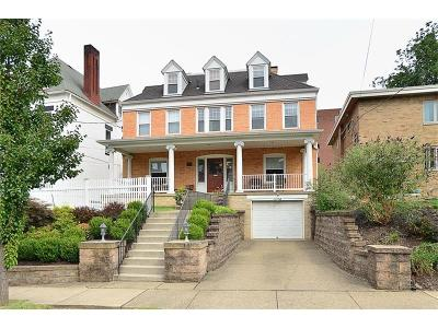 Shadyside Single Family Home For Sale: 4727 Wallingford St