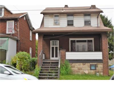 Swissvale Single Family Home For Sale: 7524 Dickson
