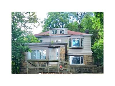 Wilkinsburg Single Family Home For Sale: 755 Hill Ave
