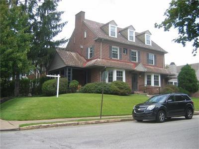 Regent Square Single Family Home Contingent: 959 S Braddock Ave