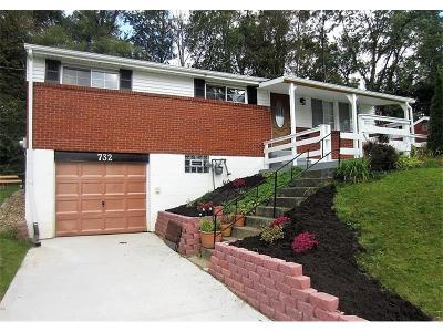 Monroeville PA Single Family Home Contingent: $139,900