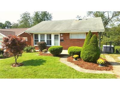 Wilkins Twp Single Family Home For Sale: 245 Kingston