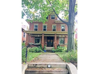 Squirrel Hill Single Family Home For Sale: 1325 Shady