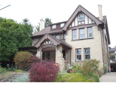 Squirrel Hill Single Family Home Contingent: 5831 Marlborough