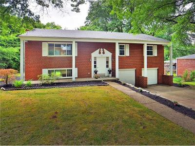 Penn Hills Single Family Home Contingent: 406 Darrell Drive
