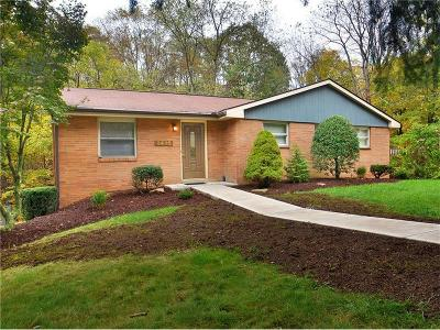 Murrysville Single Family Home Contingent: 3436 Macintyre Dr