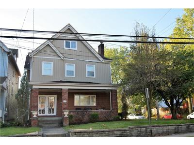 Regent Square Single Family Home For Sale: 204 Biddle Ave